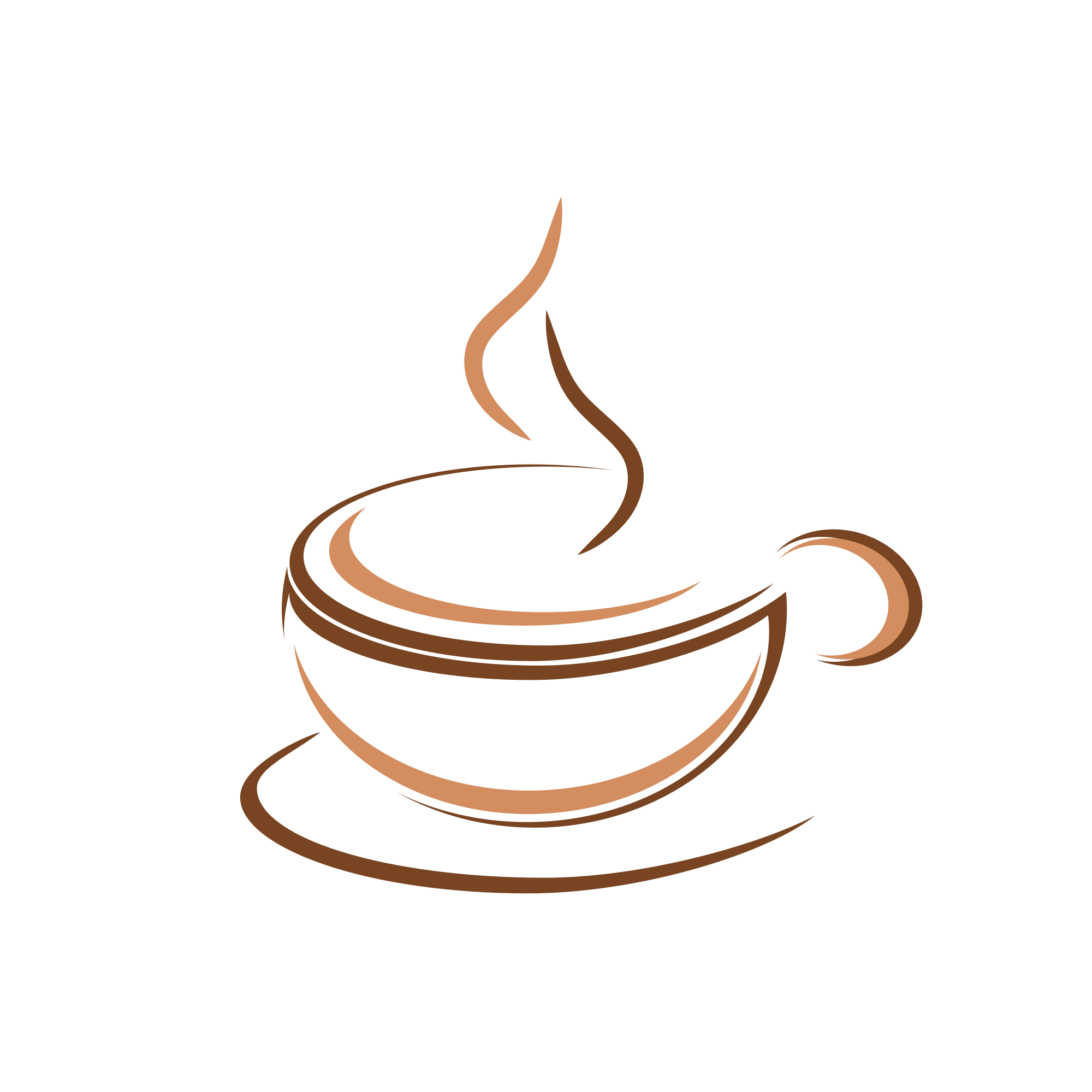 coffee logo design creative idea logo elements #7502