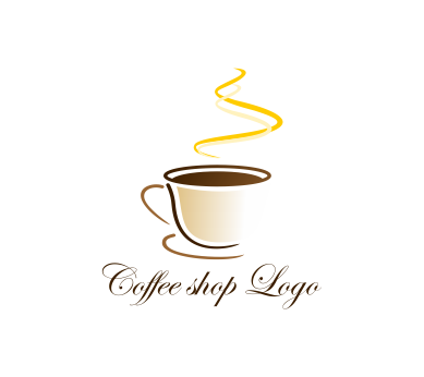 vector coffee shop logo inspiration download vector 7524