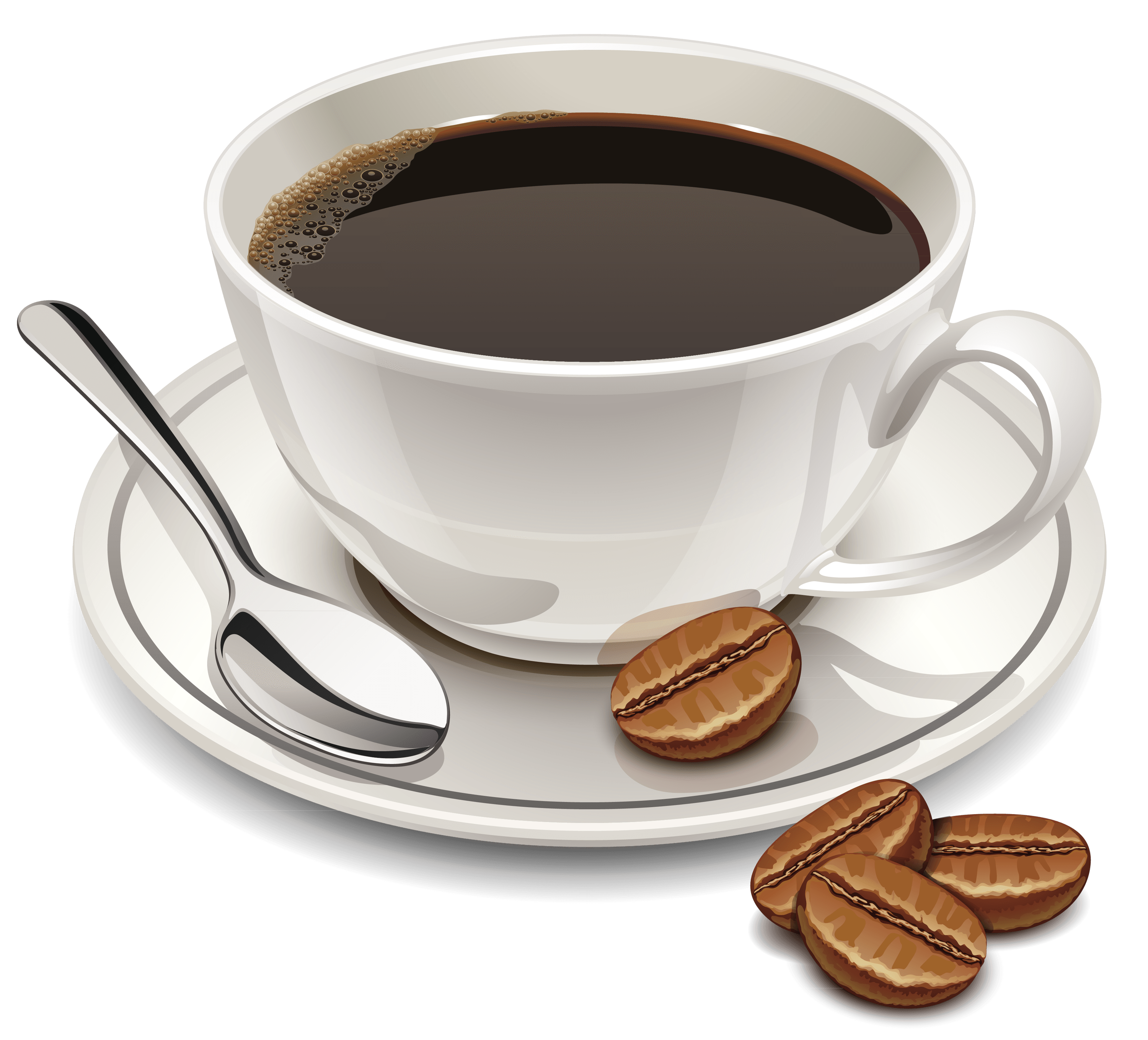 coffee and beans transparent png stickpng #12636