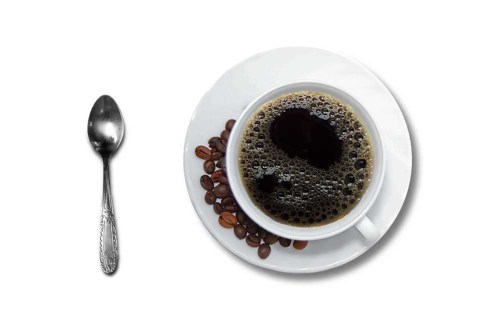 coffee cup and saucer black photo pixabay #12674
