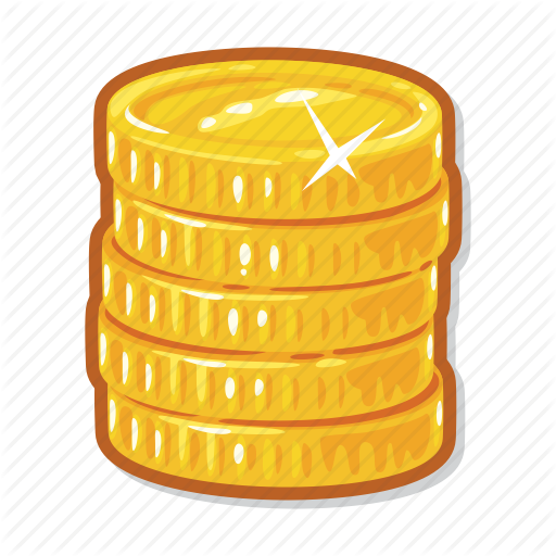 casino coins gambling money icon #16604
