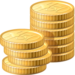 coins icon finance iconset visualpharm #16587