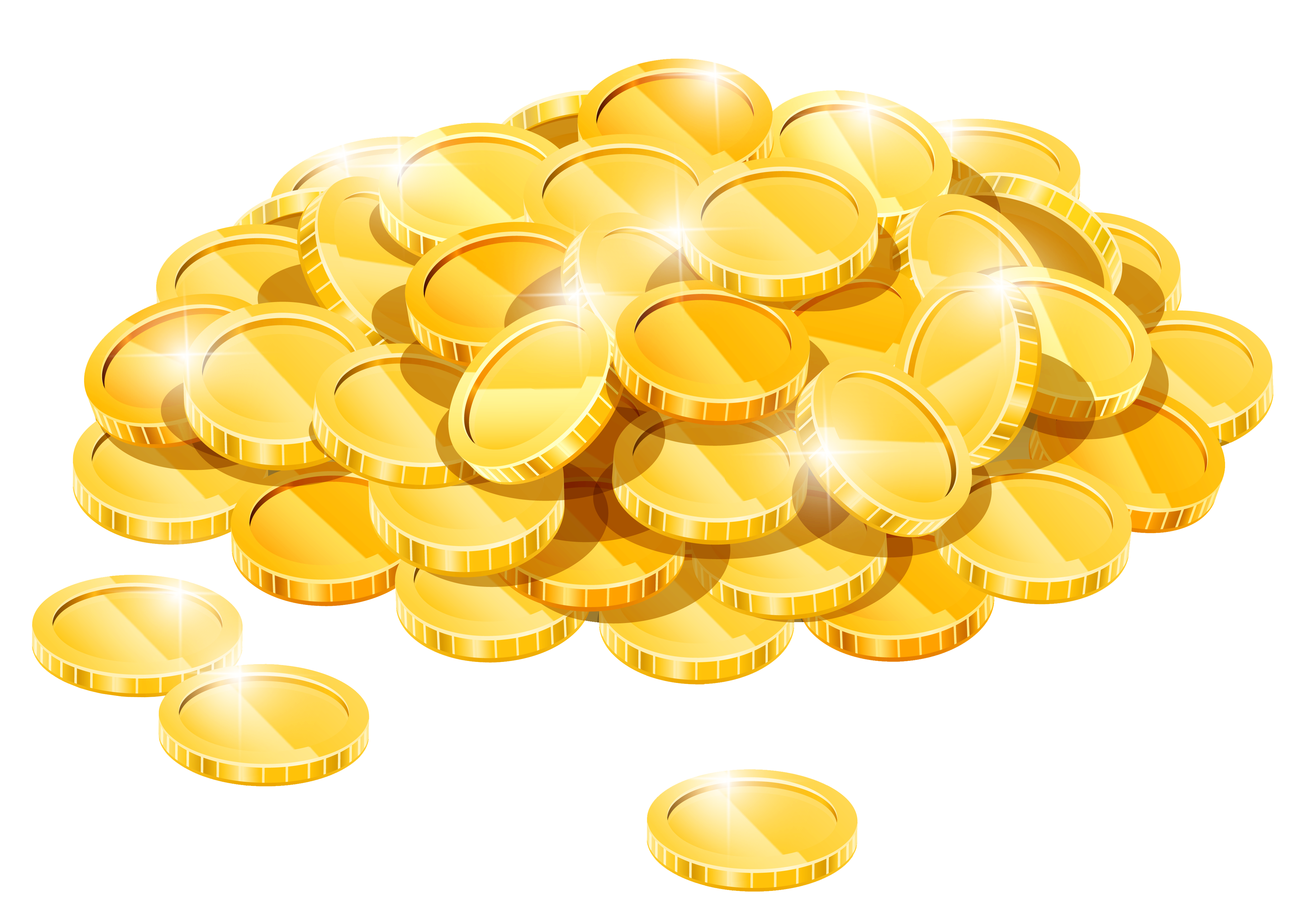 gold coins clipart cliparts download images #16585