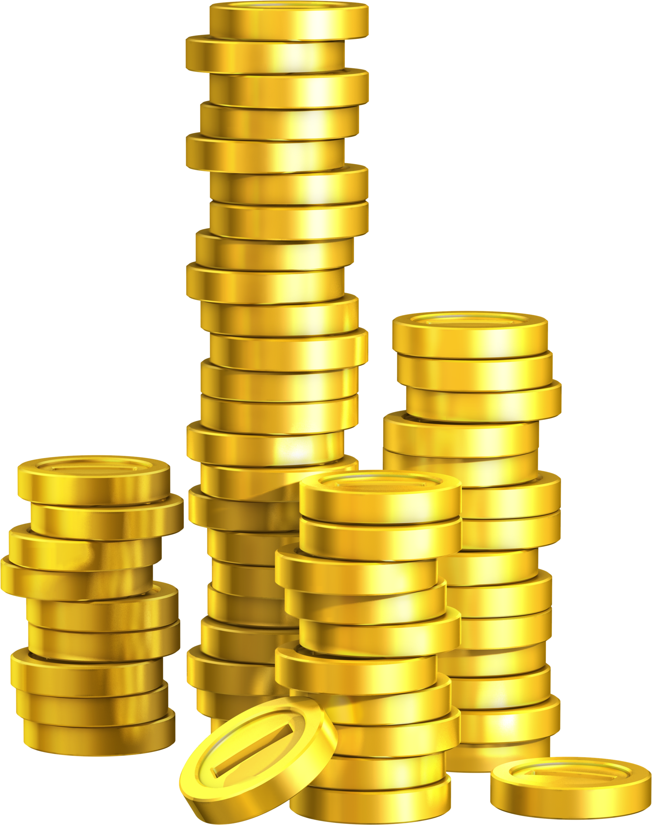 trends for stack gold coins png cliparts #16594
