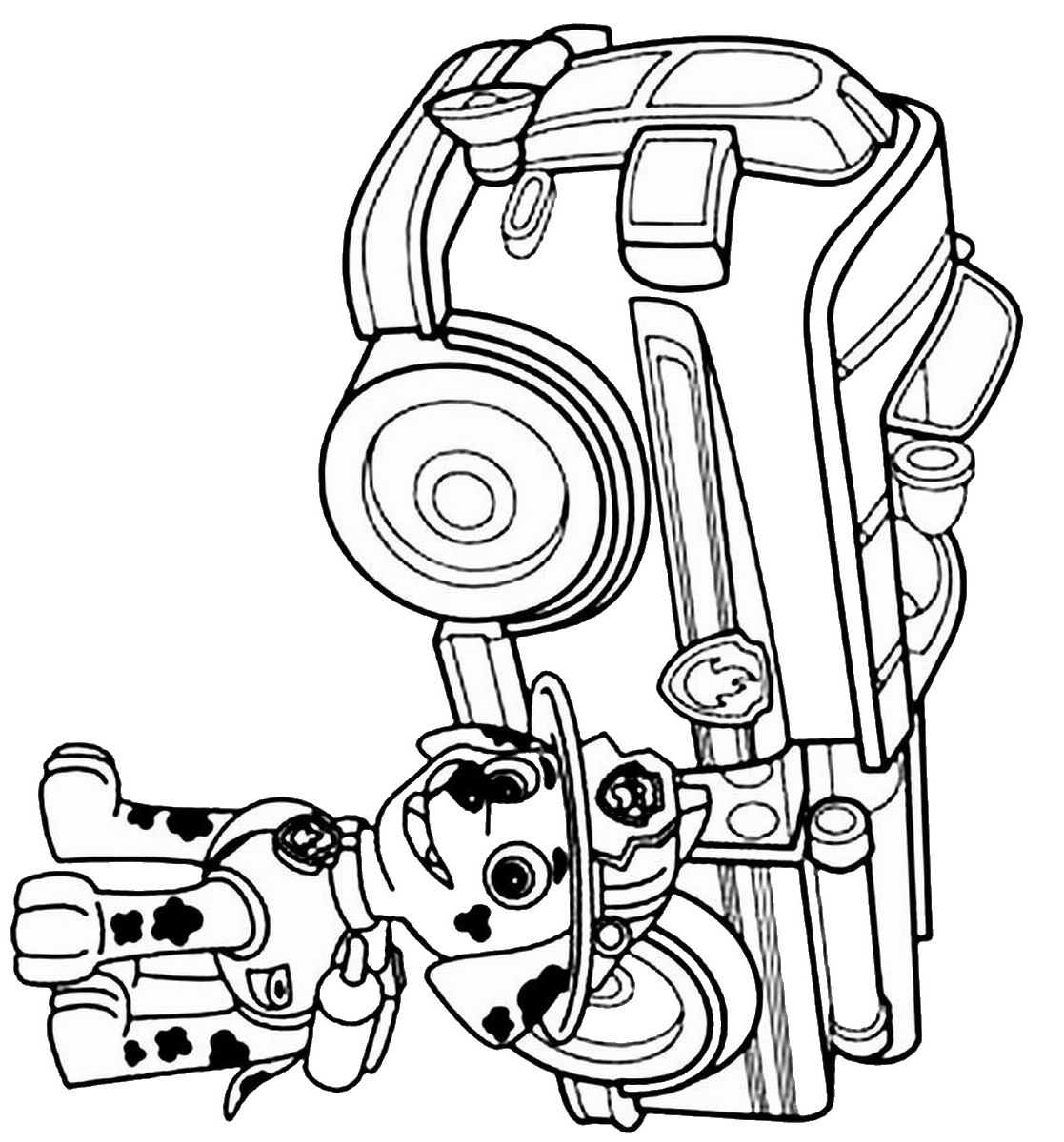 coloring pages of cali paw patrol #2642
