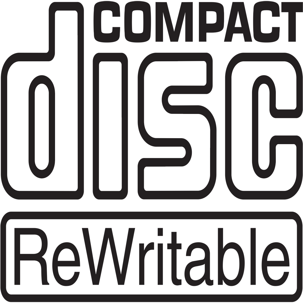 compact rewritable logo png