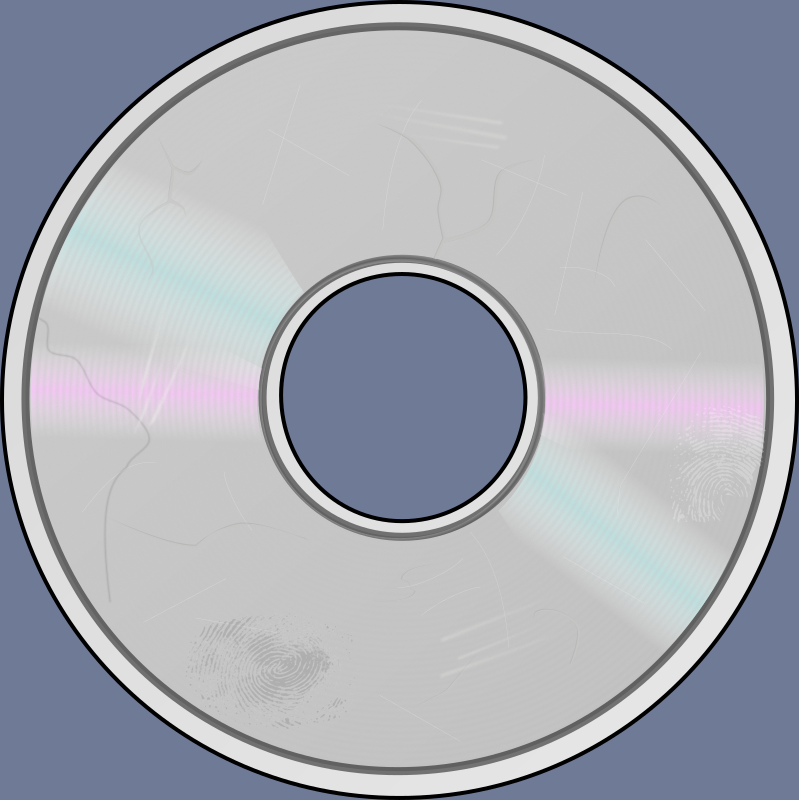 damaged compact disc png logo 6299
