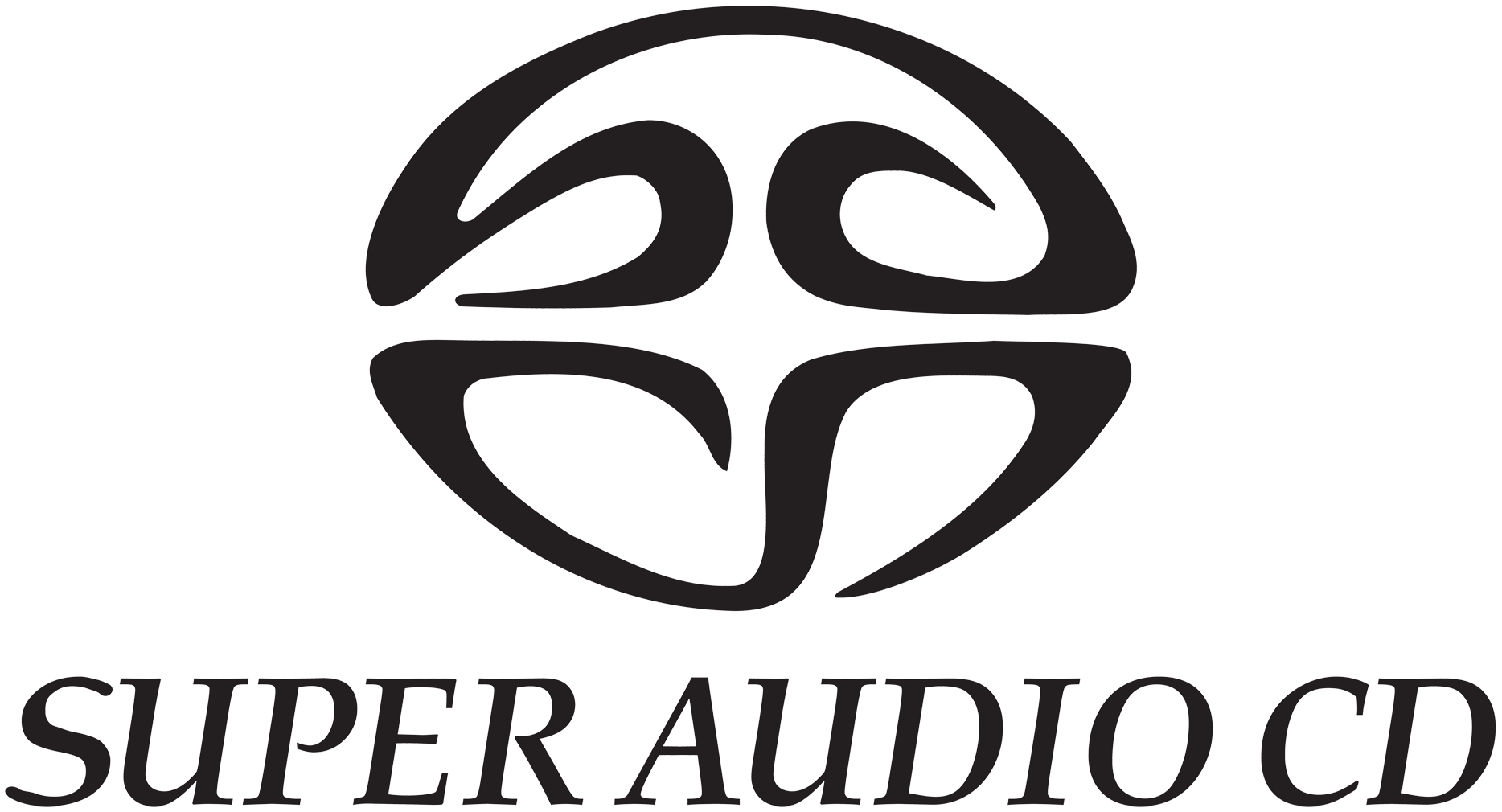 super audio cd compact disc logo png 6291
