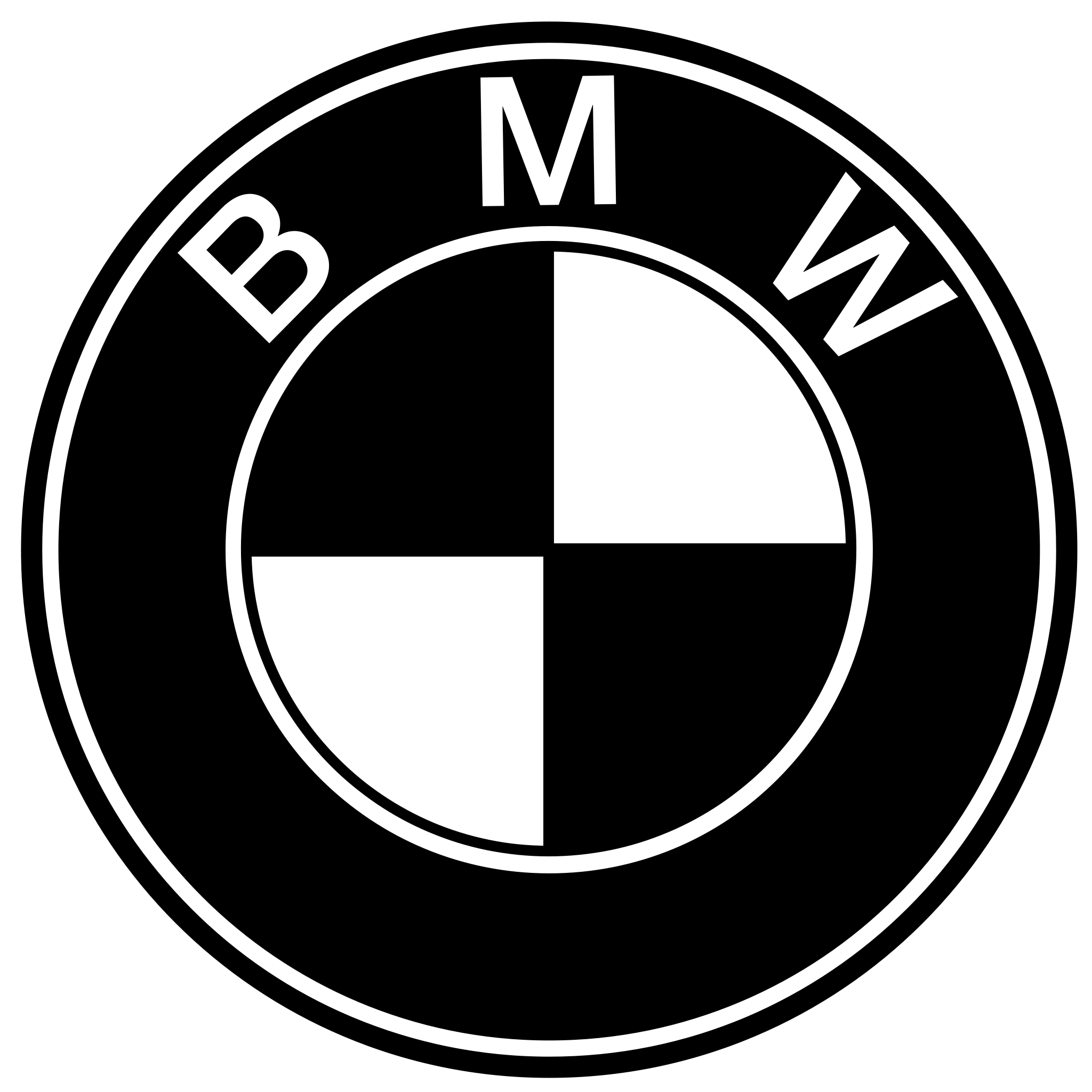 bmw brand car company logo transparent #32537