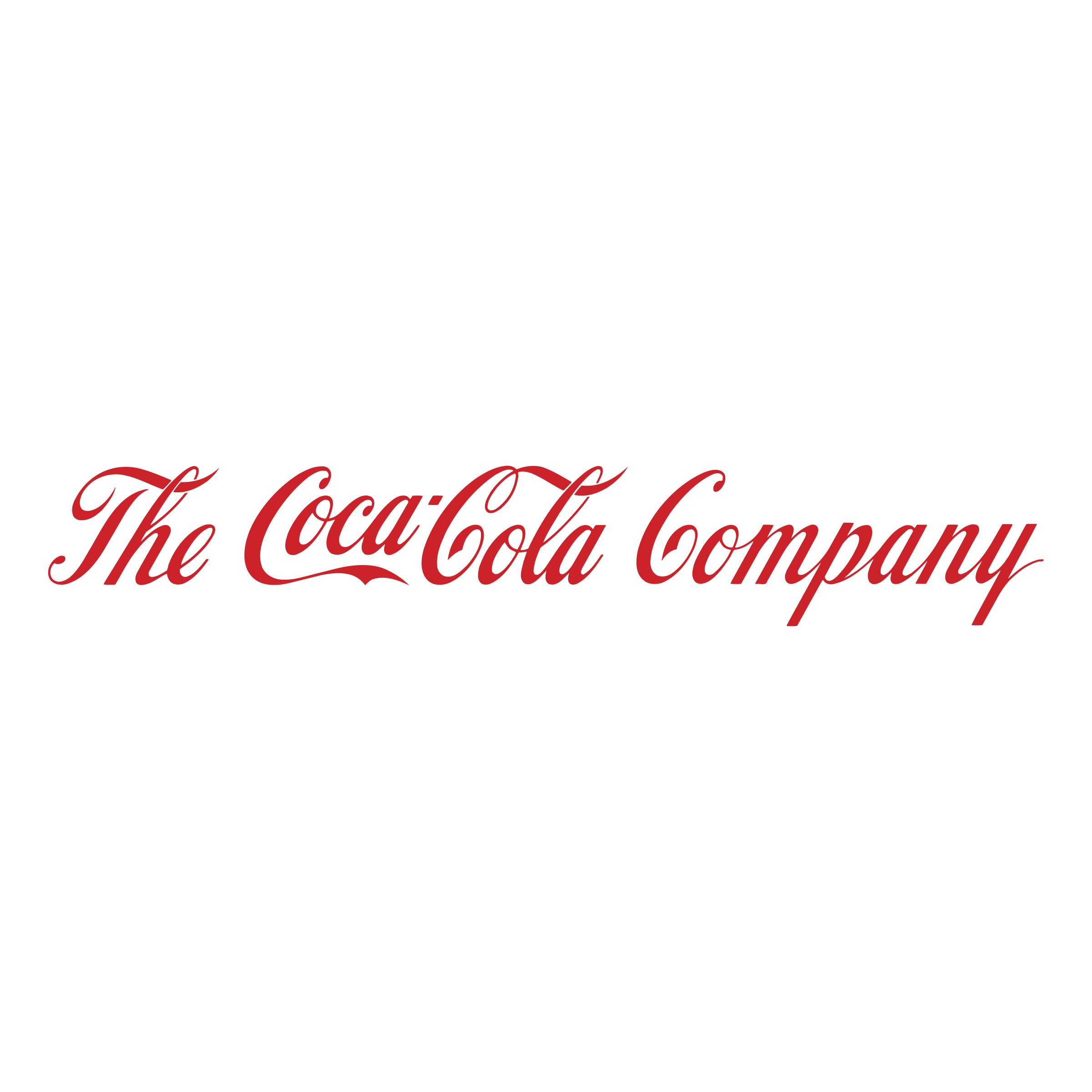 the coca cola company logo png transparent #32518