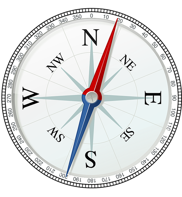 compass direction navigation vector graphic pixabay #17108