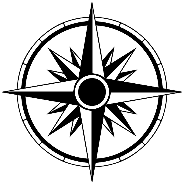 compass instrument navigation vector graphic pixabay #17109