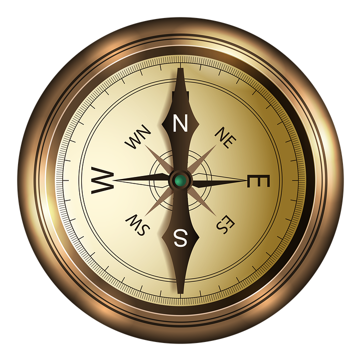 compass north south image pixabay #17088