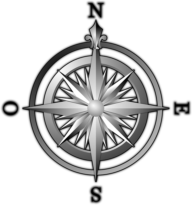 vector graphic compass wind rose compass rose #17113