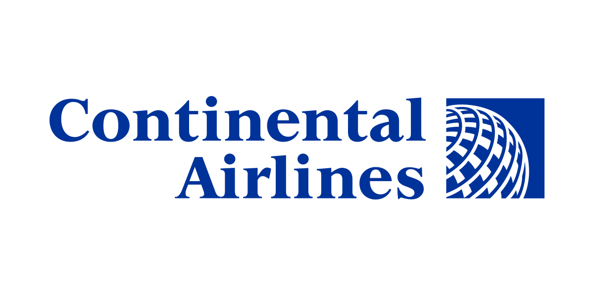 continental airlines logo png #2523