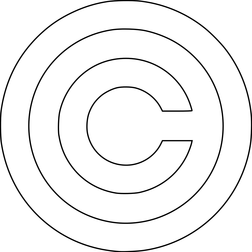 file copyright white svg wikimedia commons #28797