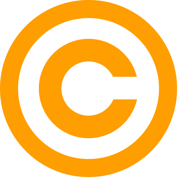 file orange copyright svg wikimedia commons #28790