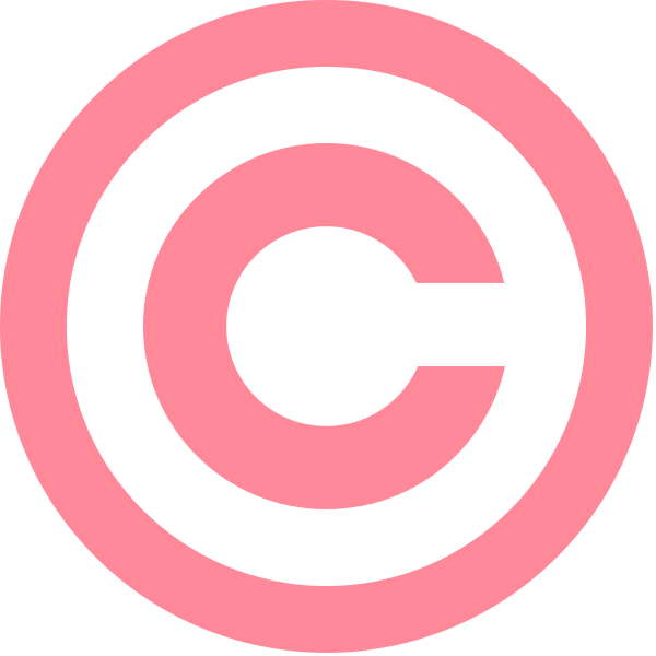 file pink copyright svg wikimedia commons #28795
