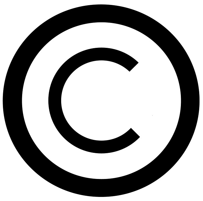 copyright symbol white background this copyright #34661