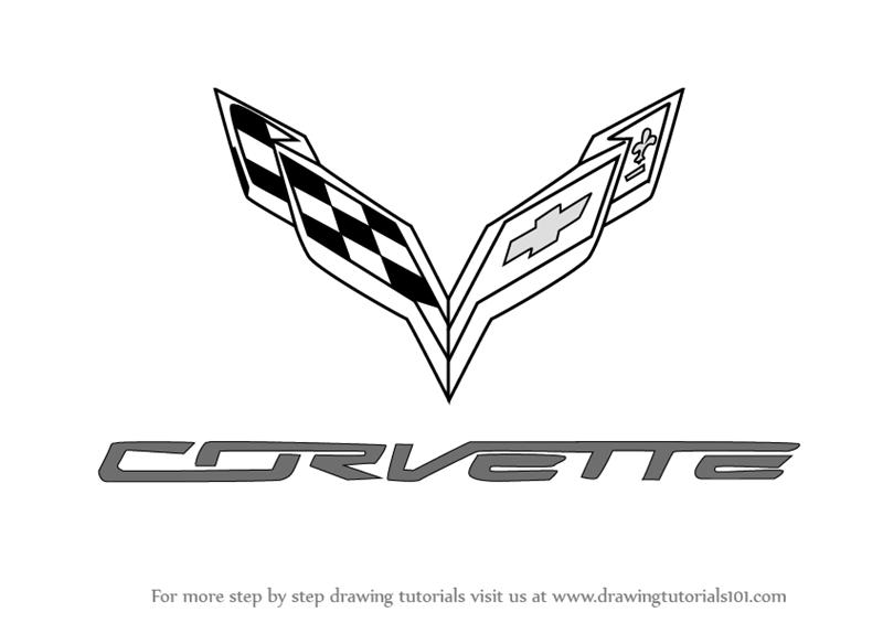 brand logos, corvette png logo #2887