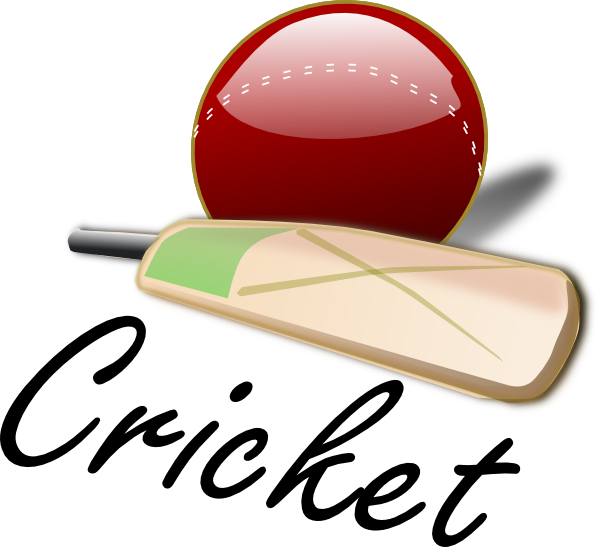 cricket logo red ball 7550