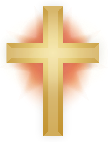 file gold christian cross svg wikimedia commons #12778