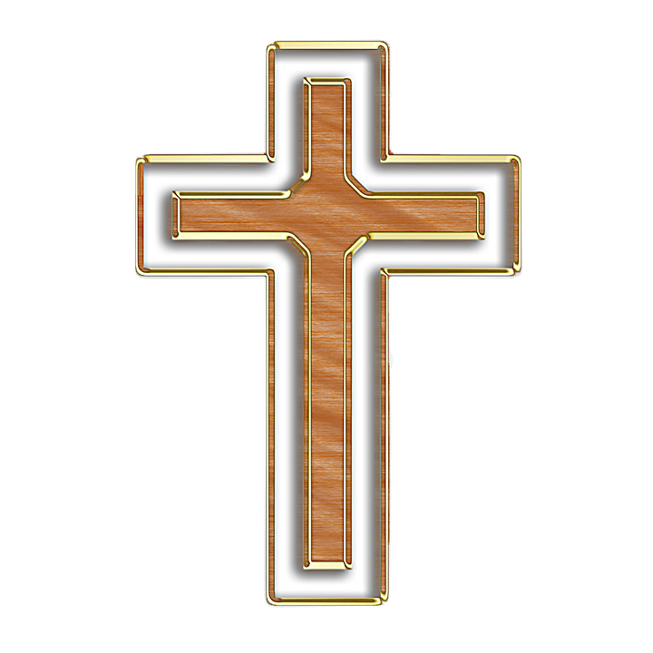 illustration cross wood christianity faith #12773