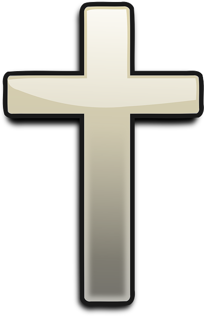 vector graphic cross church religion christian #12783