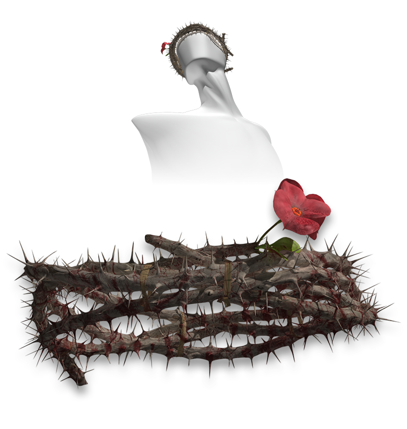 crown of thorns crown thorns themed props scenes architecture #36040