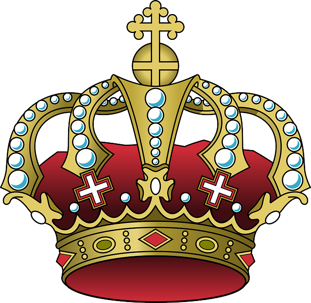 crown tiara glowing vector graphic pixabay #10807