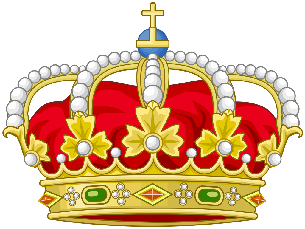 file heraldic royal crown spain svg wikimedia commons #10780