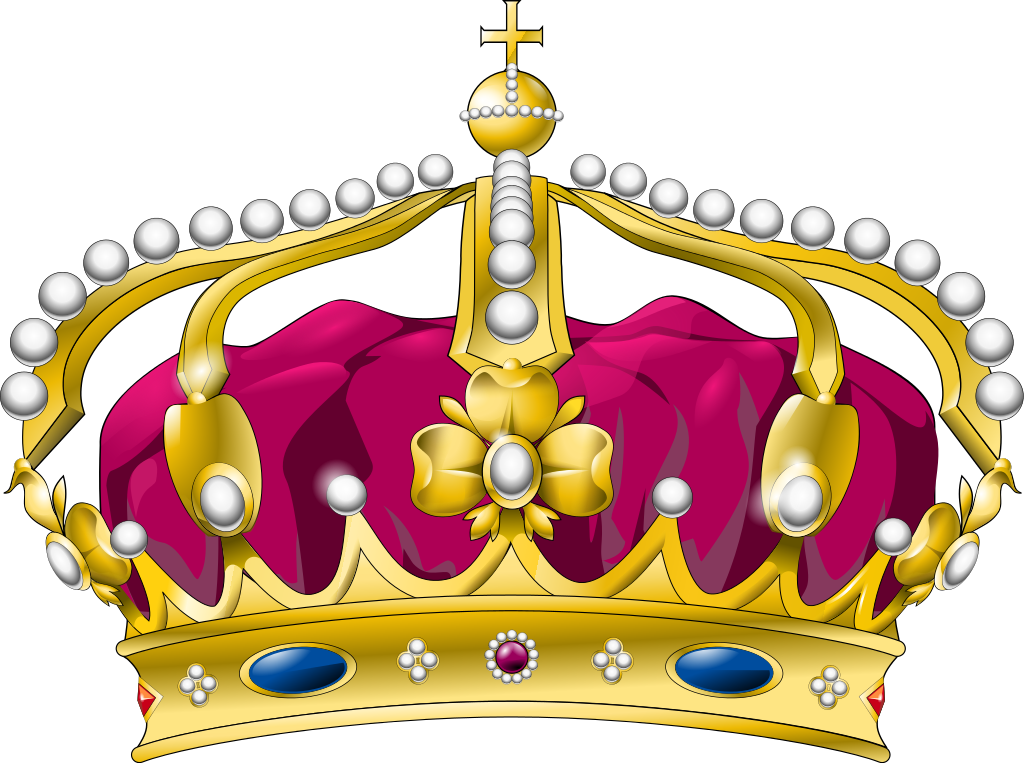 file royal crown curved svg wikimedia commons #10702