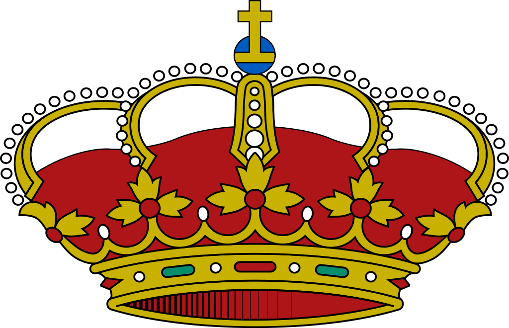file spanish royal crown svg wikimedia commons #10798