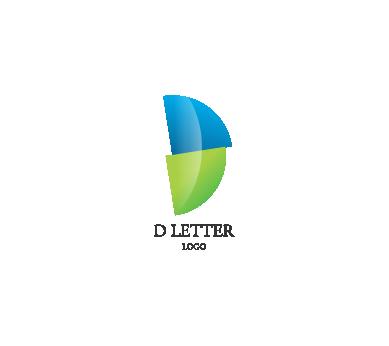 d letter alphabets logo png #1366