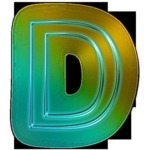 d letter logo transparent png #1386