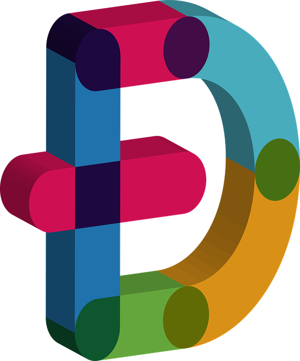 D letter symbol logo png #1384