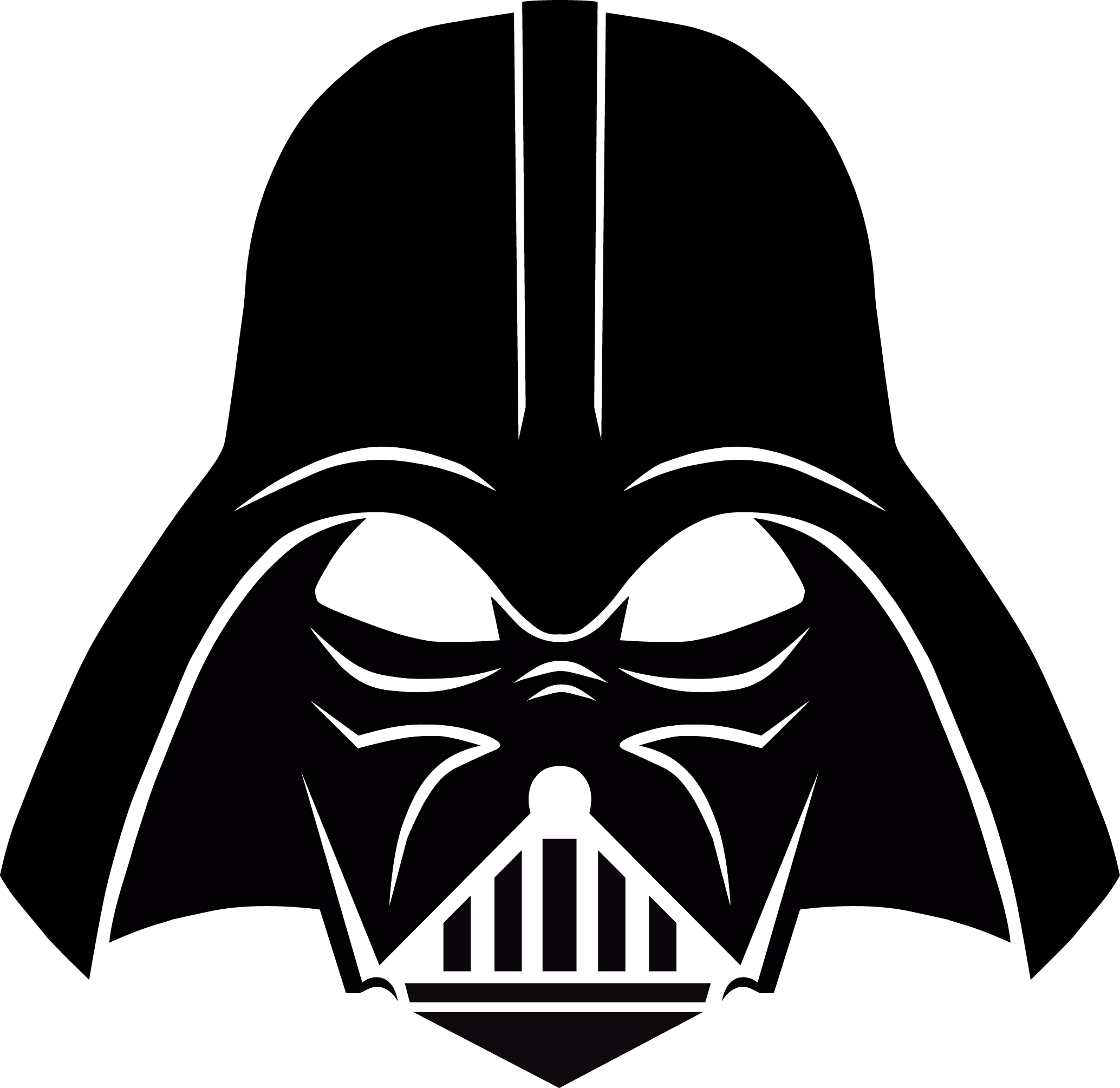 darth vader clipart outline cliparts download #18586
