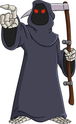death grim reaper wikisimpsons the simpsons wiki #36624