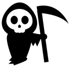death holiday halloween grim reaper domain clip art #37233