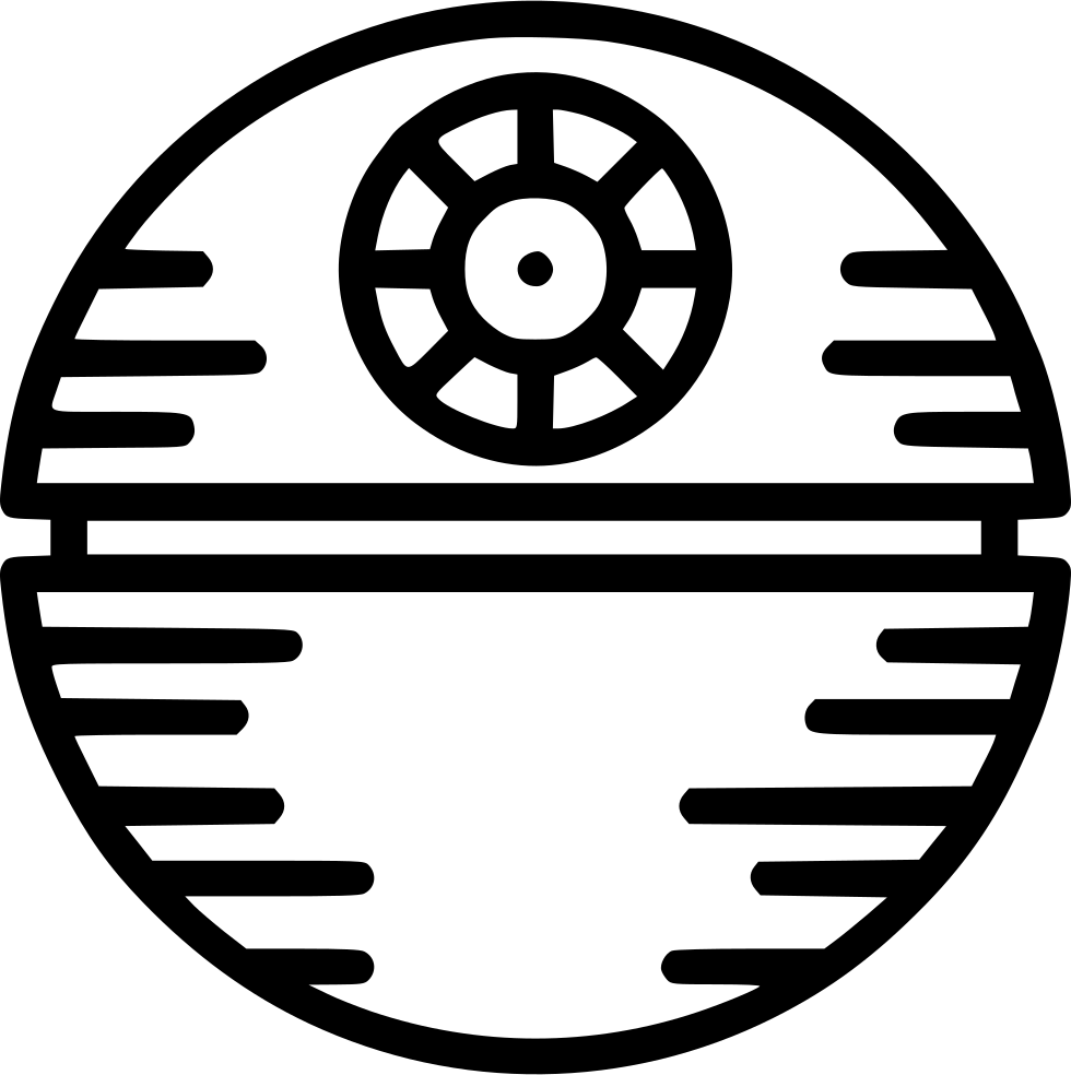 death star svg png icon download #37241
