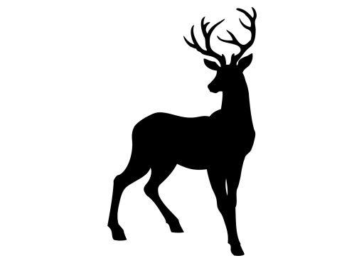 deer, printer friendly manley meats #22309