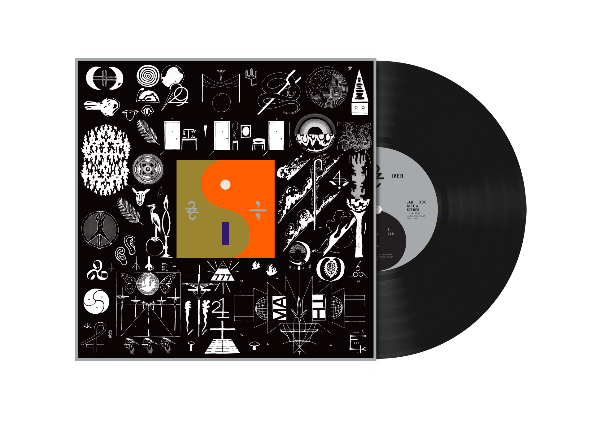 design, designing bon iver million interview with eric #31222