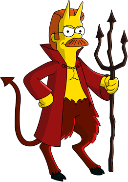 devil flanders simpsons wiki fandom powered wikia #35275