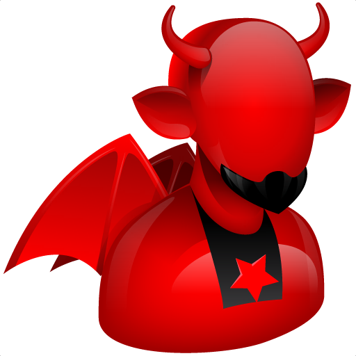 devil icon large boss iconset aha soft #35274