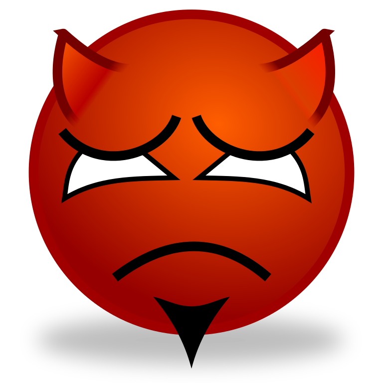 file smiley devil sad svg wikimedia commons #35248