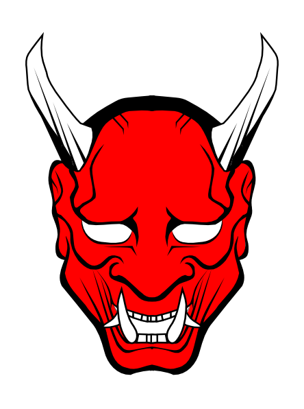 red devil face clip art clkerm vector clip art #35252