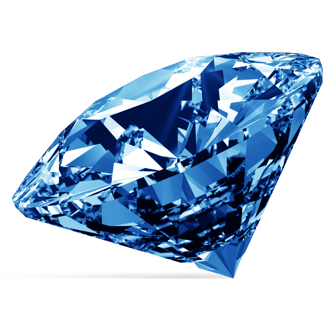 blue diamond transparent png #13225