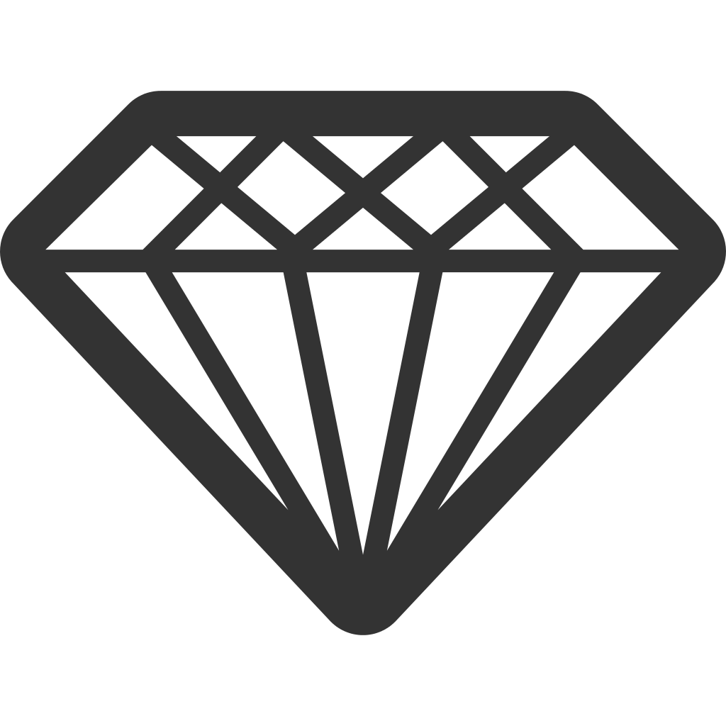 file linecons diamond svg wikimedia commons #13449