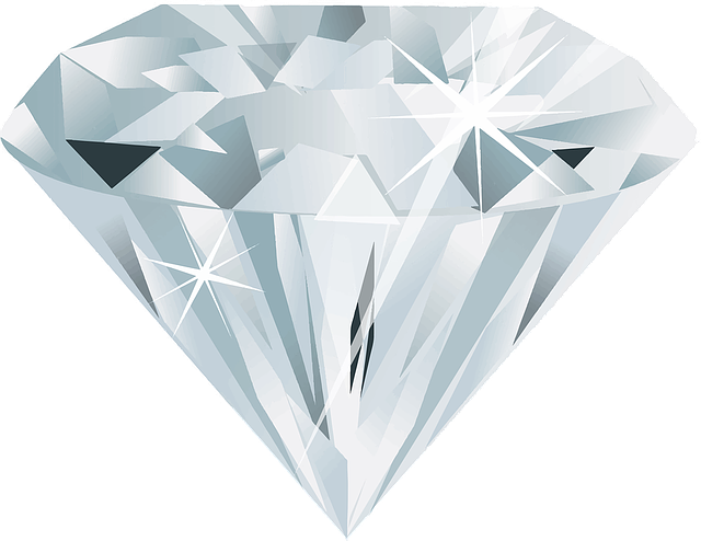 vector graphic diamond gem gemstone jewelry #13453