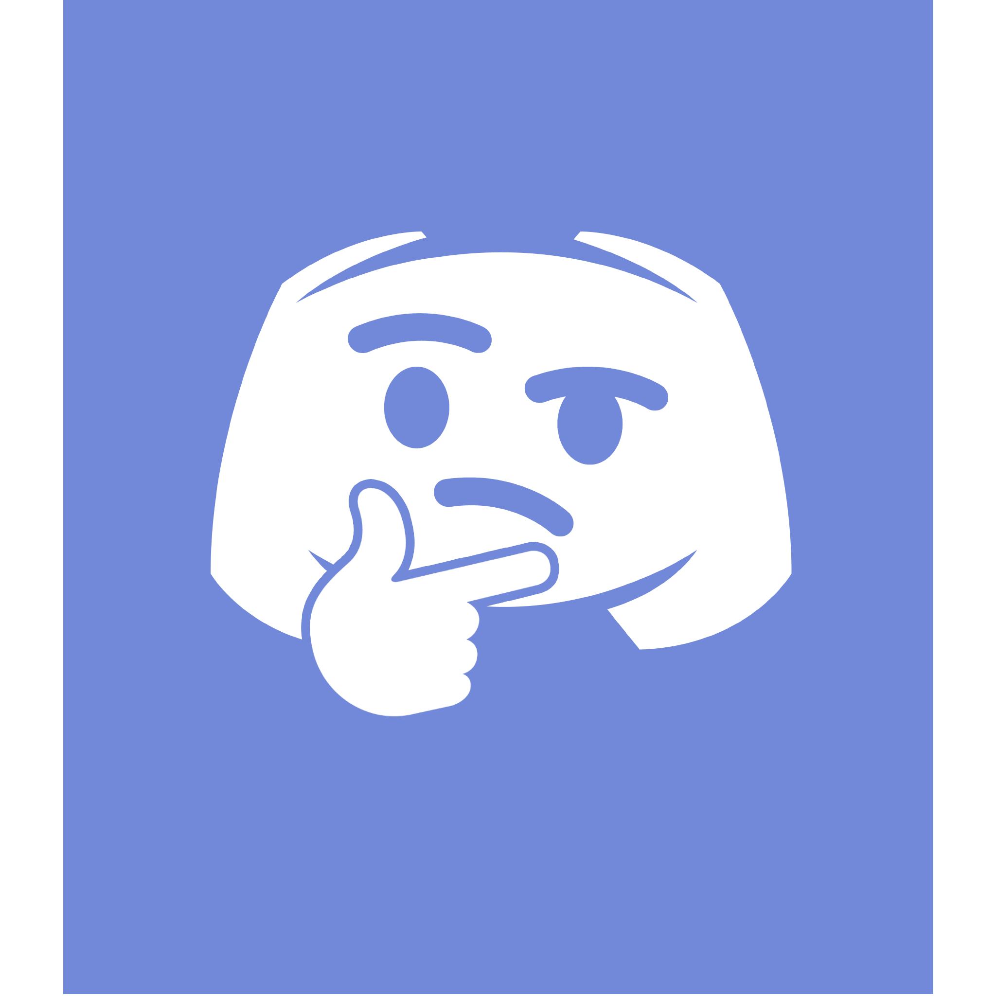 discord emoji icon discord thonk discord emoji